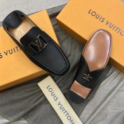 Đề giày LV nam được làm như bản Authentic