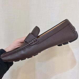 Giày lười nam siêu cấp LVGN841 màu nâu