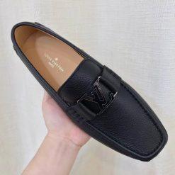 Giày LV siêu cấp LVGN842 có khóa kim loại màu đen