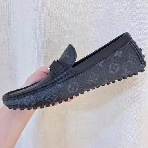 Họa tiết hoa monogram trên giày LV siêu cấp LVGN843