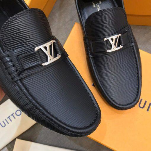 Mặt khóa giày LV LVGN868 mang logo thương hiệu LV kim loại trắng