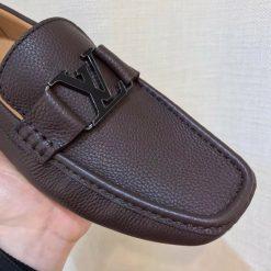 Mặt khóa giày LV nam siêu cấp LVGN841 màu đen sang trọng