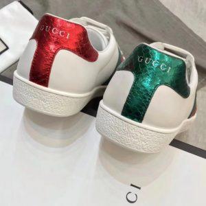 Gót giày Gucci ong được làm từ da rắn