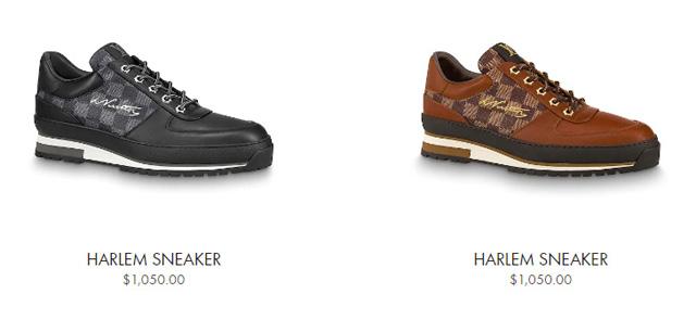 Giá bán giày LV nam Sneaker