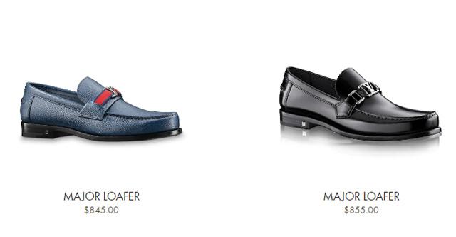 Giá bán giày LV nam đế cao