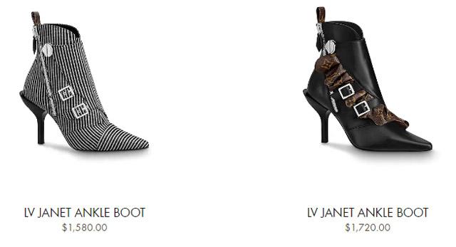 Giá bán giày LV nữ cao gót