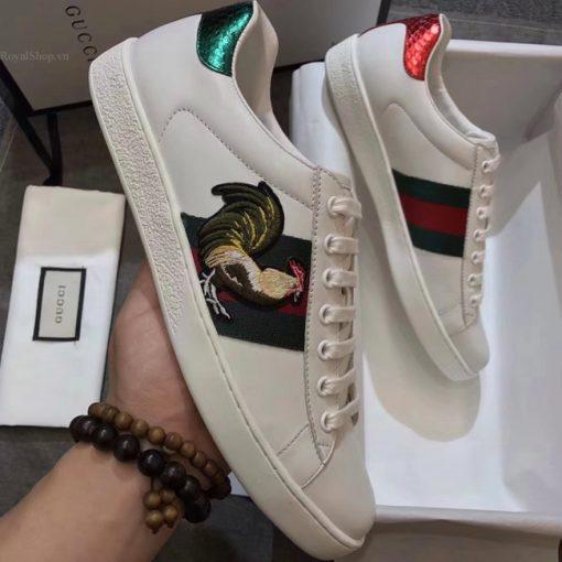 Giày Gucci con gà siêu cấp