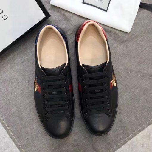 Giày Gucci ong màu đen