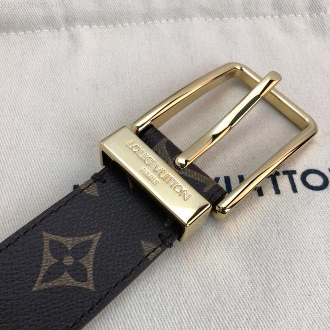 Thắt lưng LV khóa kim phù hợp quần jean và quần vải
