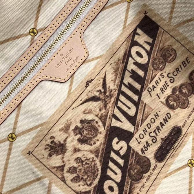 Những chi tiết bên trong túi LV LVTF8117