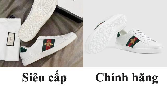Phân biệt giày chính hãng và giày siêu cấp
