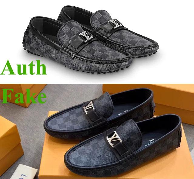 Phân biệt giày LV thật giả