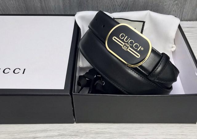 Thắt lưng Gucci Print buckle giá bao nhiêu
