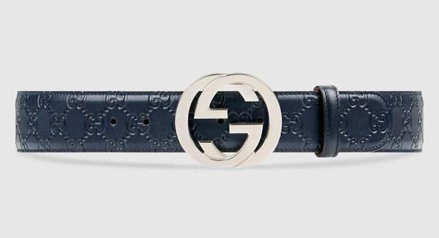 Thắt lưng Gucci Signature leather có giá bao nhiêu