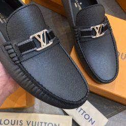 Da taiga trên giày LV siêu cấp LVGN852