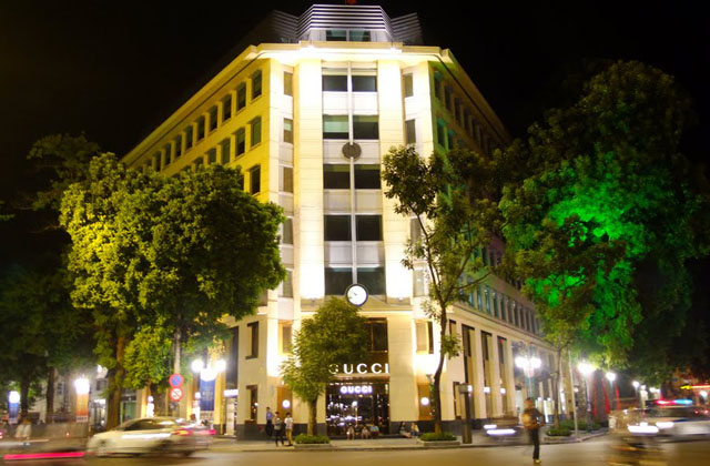 Địa chỉ bán giày Gucci chính hãng tại Hà Nội
