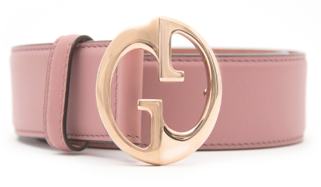 Thắt lưng Gucci là mặt hàng chủ lực của thương hiệu này
