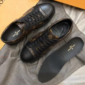 Chi tiết giày LV sneaker siêu cấp