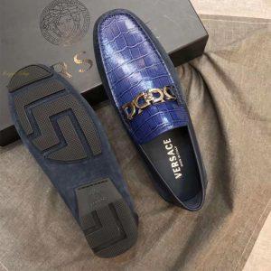 Đế giày Versace làm từ cao su đúc cao cấp
