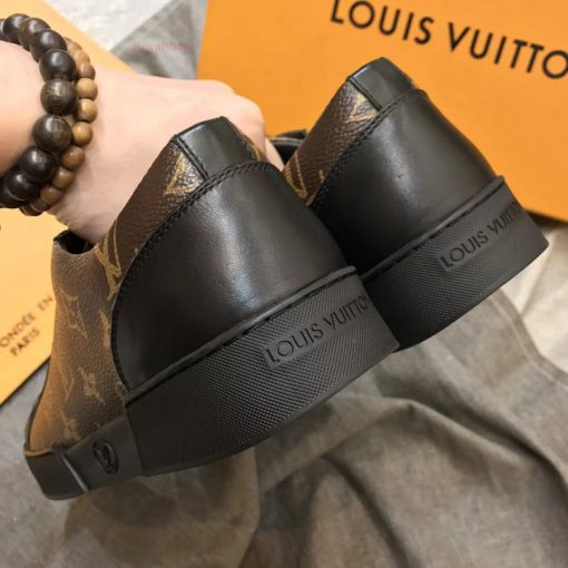 Gót giày LV sneaker siêu cấp