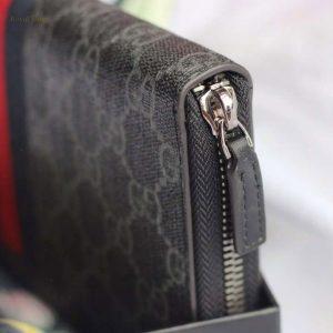 Khóa kéo trên ví Gucci nam