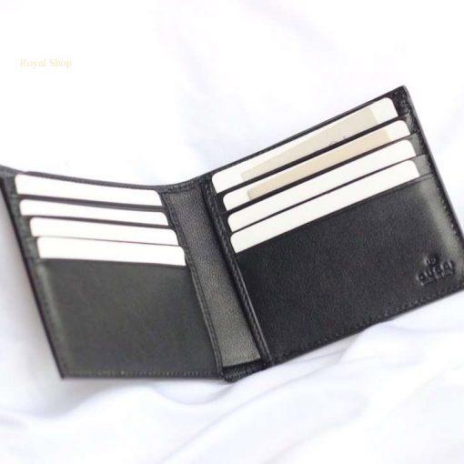 Mặt trong của ví Gucci