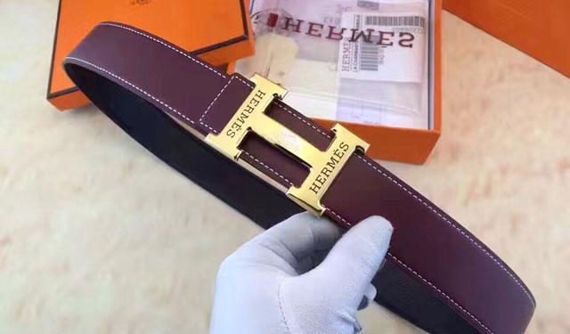 Nhận biết thắt lưng Hermes thật giả qua mặt khóa