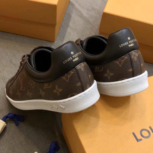 Phần gót giày LV sneaker siêu cấp