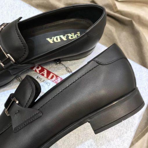 Chi tiết giày nam Prada siêu cấp