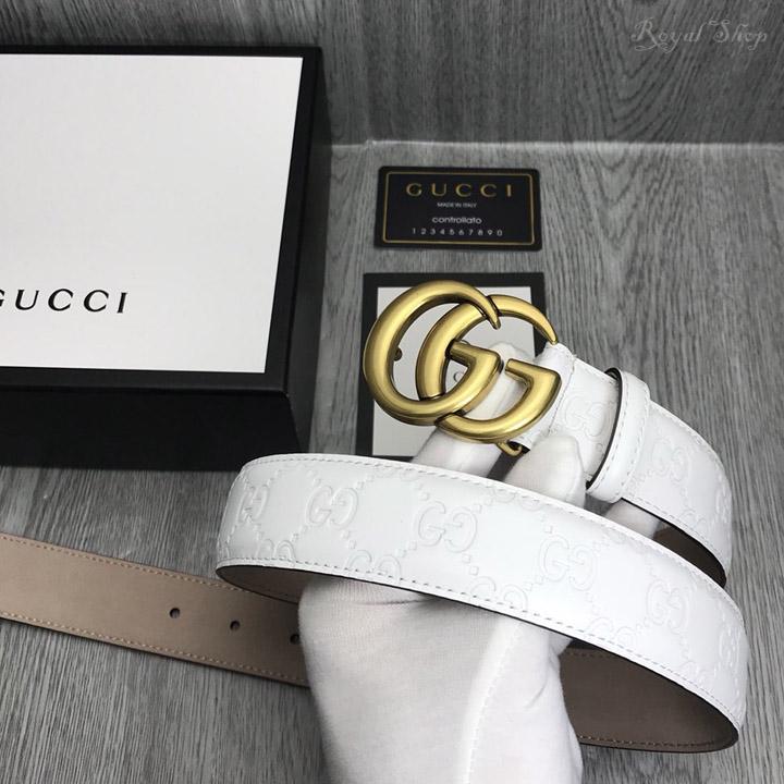 Trên tay thắt lưng Gucci nam cao cấp GCTL5793