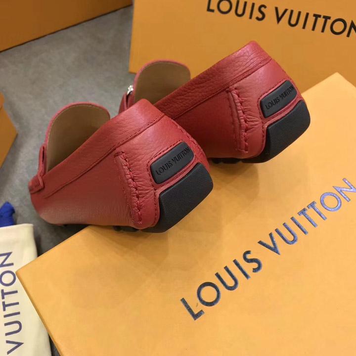Phần gót của giày nam LV