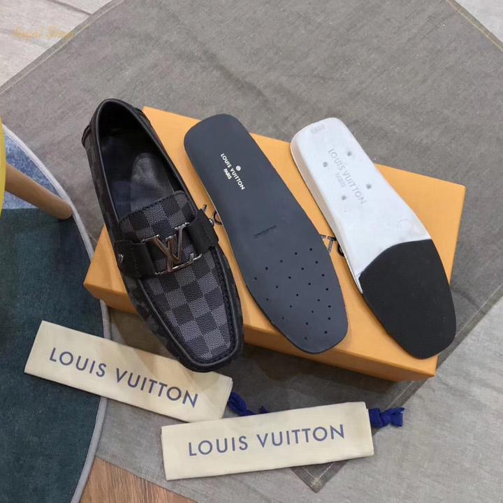 Các chi tiết của giày nam LV siêu cấp