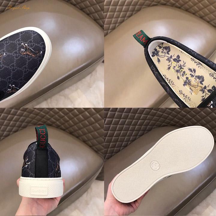 Các chi tiết trên giày nam Gucci 5386