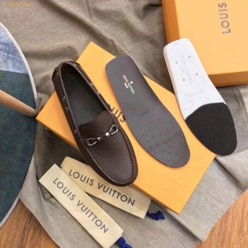 Chi tiết giày nam LV siêu cấp