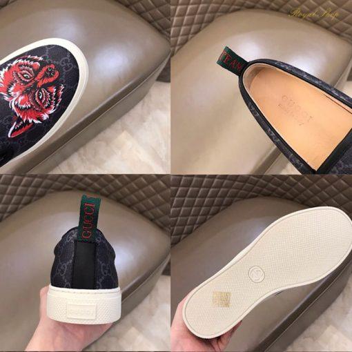 Chi tiết giày nam Slip-on Gucci
