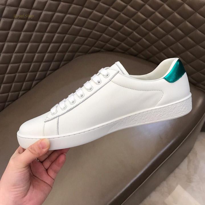 Giày Gucci được làm từ da bê cao cấp