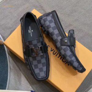Giày lười hàng hiệu Louis Vuitton siêu cấp