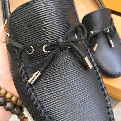 Giày mọi LV thắt nơ