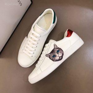 Giày nam Gucci con mèo buộc dây GCGN5395