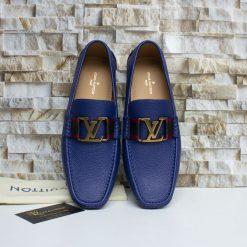 Giày nam LV màu xanh da trời