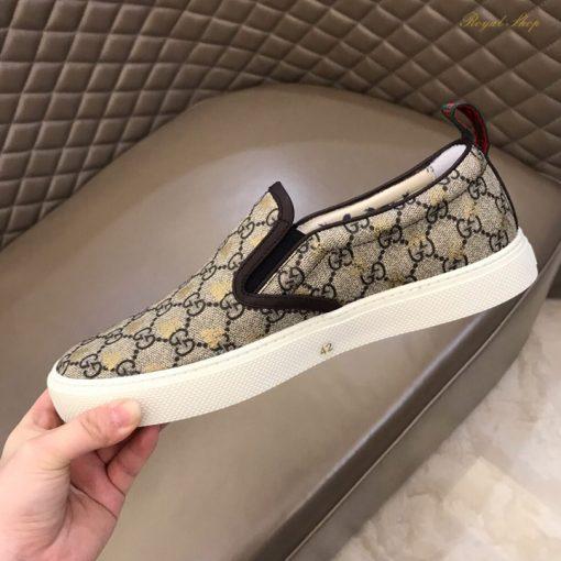 Họa tiết double G trên giày Gucci
