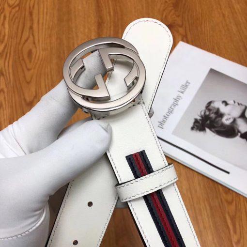 Mặt khóa Gucci được làm từ thép mạ Crom