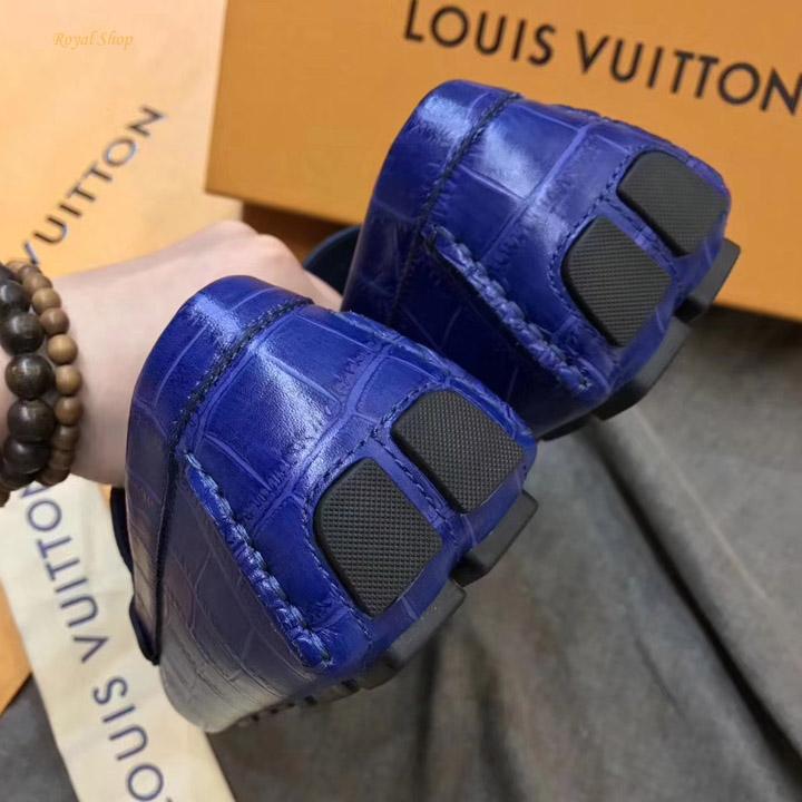 Phần gót giày LV