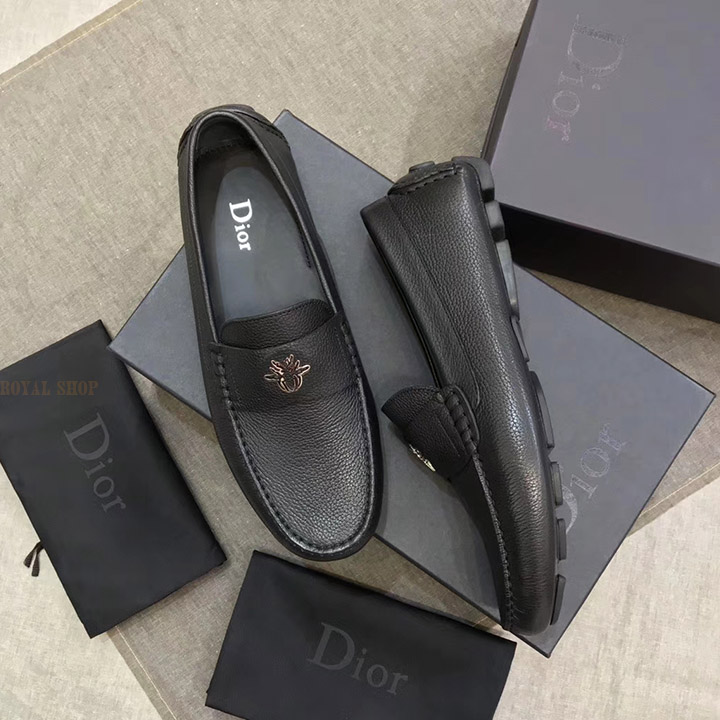 Giày Dior nam siêu cấp con bọ bạc