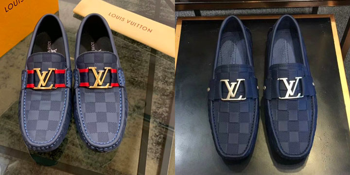 Giày lười nam LV super fake giá rẻ