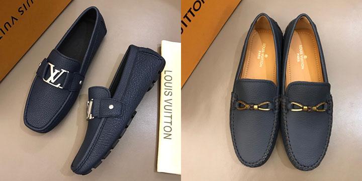 Giay lườii nam Louis Vuitton cao cấp giá rẻ