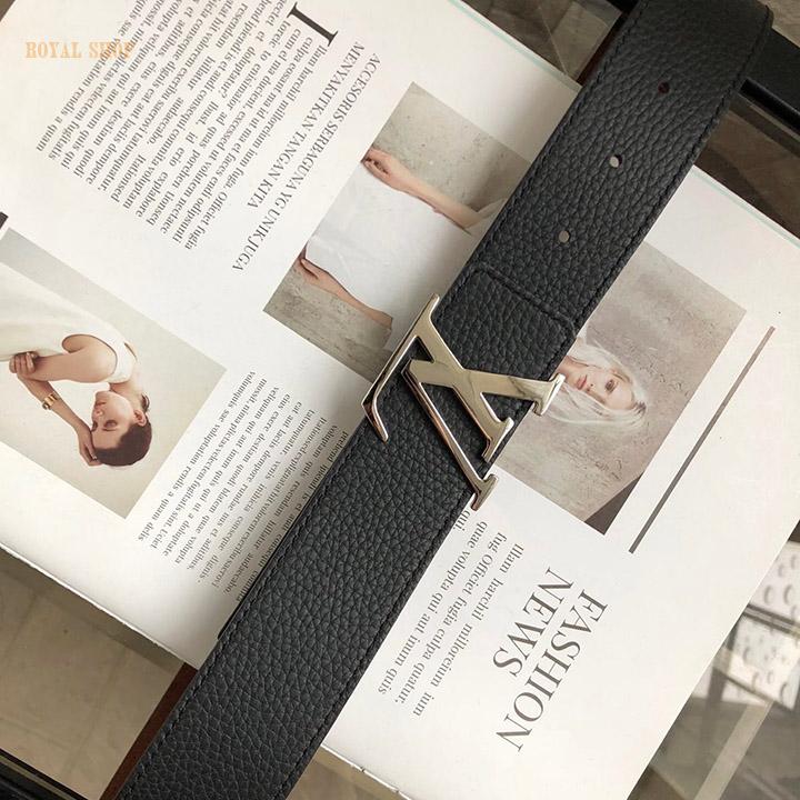Thiết kế đặc trưng của thắt lưng Louis Vuitton