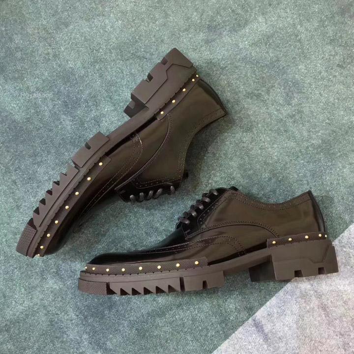 Phom giày nam Versace siêu cấp chuẩn Authentuc