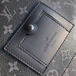 Túi nhỏ được trang trí bên ngoài túi nam đeo chéo LV siêu cấp