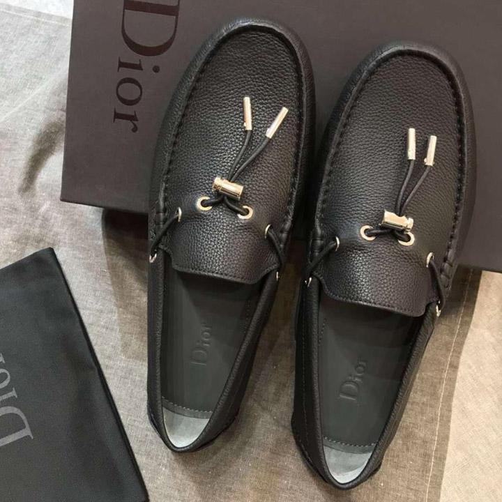 Giày Dior nam thắt nơ